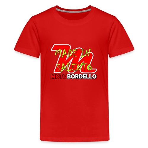 logo motobordello - Maglietta Premium per ragazzi