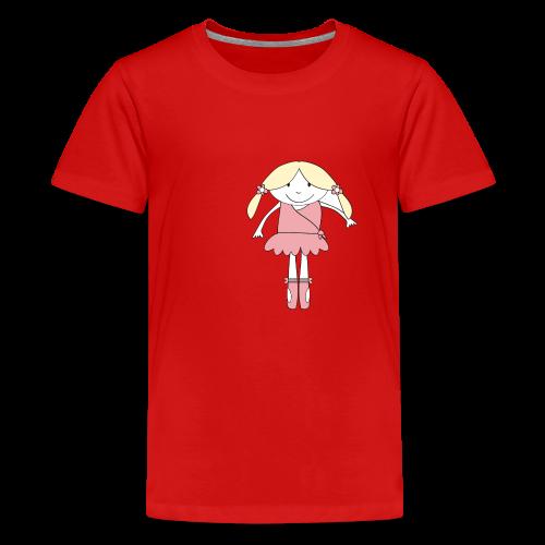 little ballerina - Teenager Premium T-Shirt