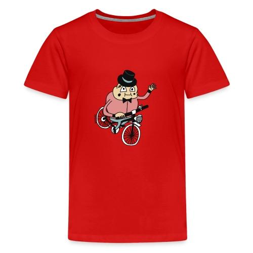 Biker by Cheslo - Teenager Premium T-Shirt