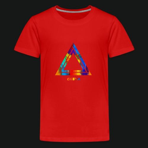 ØKUNA - Tee shirt logo - T-shirt Premium Ado