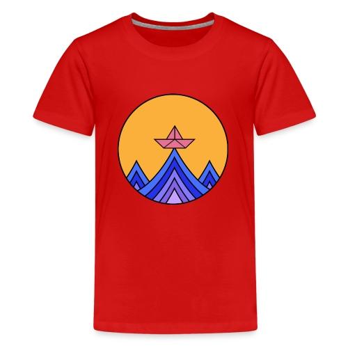 papierboot2 - Teenager Premium T-Shirt