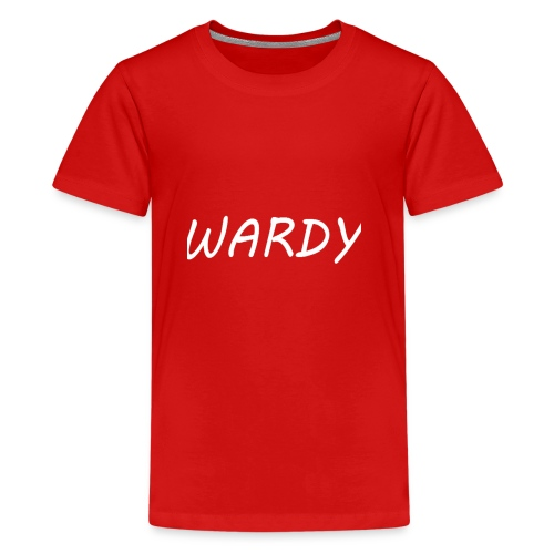 Wardy T-Shirt - Teenage Premium T-Shirt