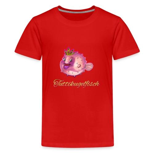 Tuttikugelfisch - Teenager Premium T-Shirt