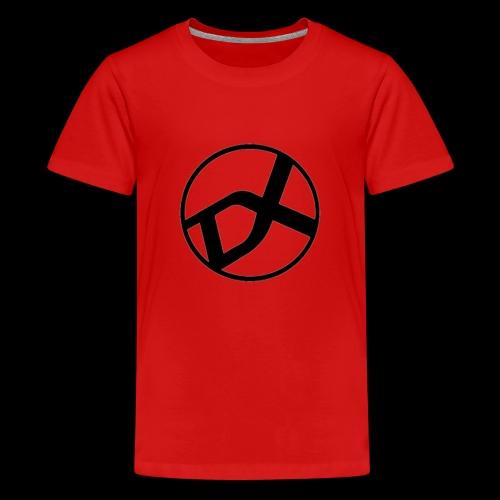 DX Logo black - Teenager Premium T-Shirt