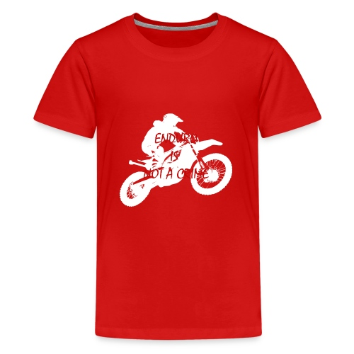 enduro is not a crime - Teenager Premium T-Shirt