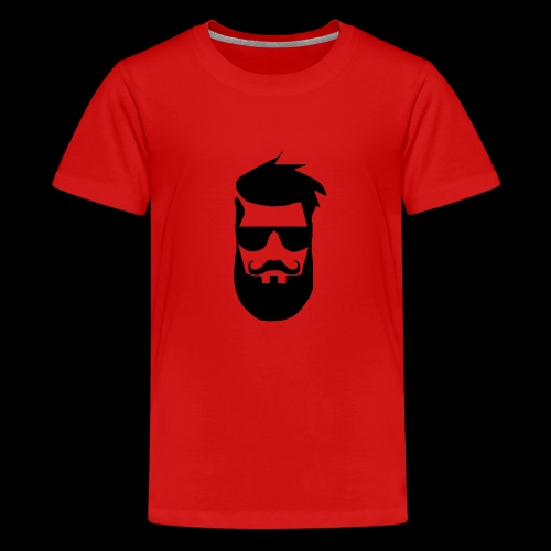 chadmanendez Face - Teenage Premium T-Shirt