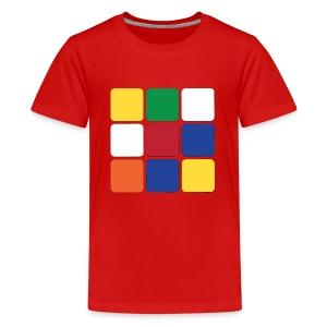 Würfel - Teenager Premium T-Shirt