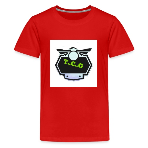 Cool gamer logo - Teenage Premium T-Shirt