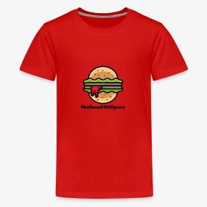 belluno FOOD burger - Maglietta Premium per ragazzi