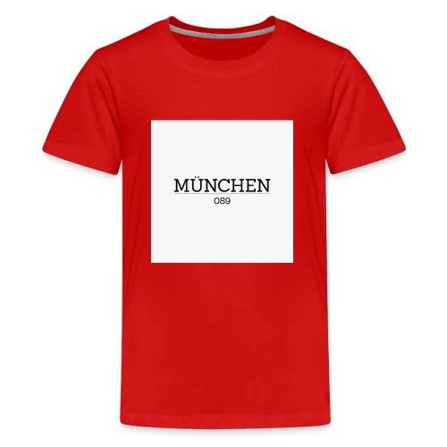 Muenchen 089 - Teenager Premium T-Shirt
