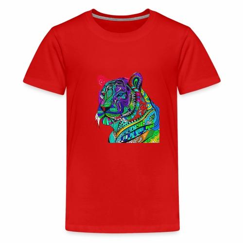 Tiger Tee - Teenage Premium T-Shirt