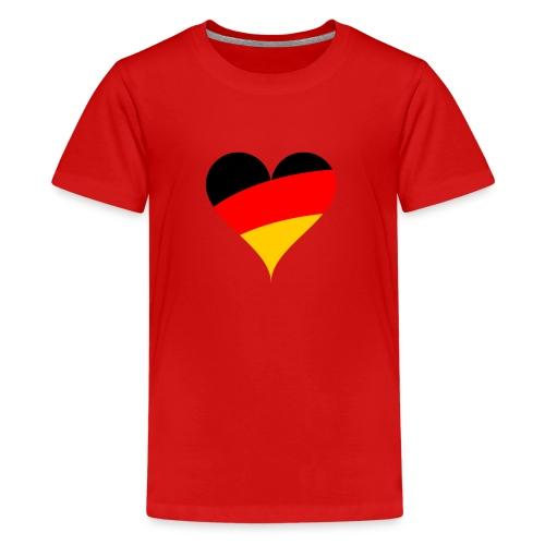 Deutschland - Teenager Premium T-Shirt