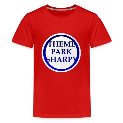 Theme Park Sharpy Brand - Teenage Premium T-Shirt