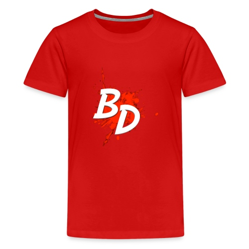 BD logo - Teenage Premium T-Shirt