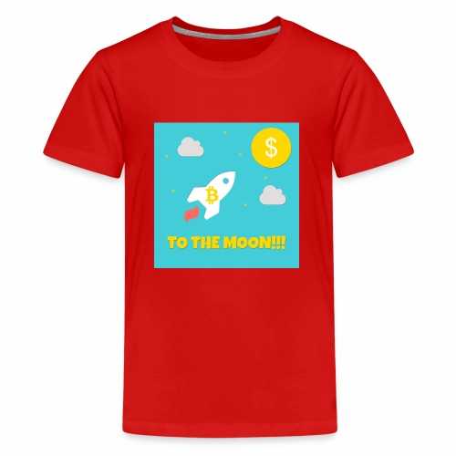 TO THE MOON COLLECTION - Teenager Premium T-Shirt
