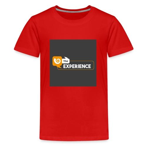 The Experience Podcast Merchandise Store - Teenage Premium T-Shirt
