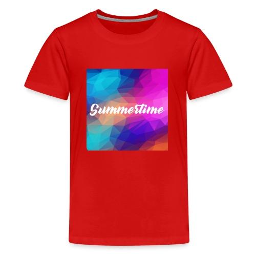 SummerTime Motiv Geschenk - Teenager Premium T-Shirt