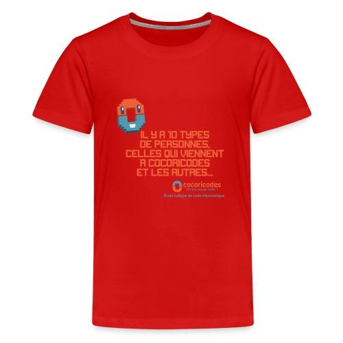 10 types de personnes - T-shirt Premium Ado