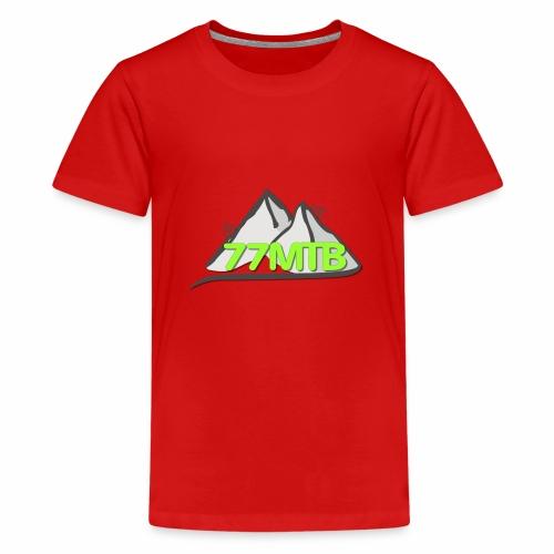 77MTB- Wir biken für einen guten Zweck - Teenager Premium T-Shirt