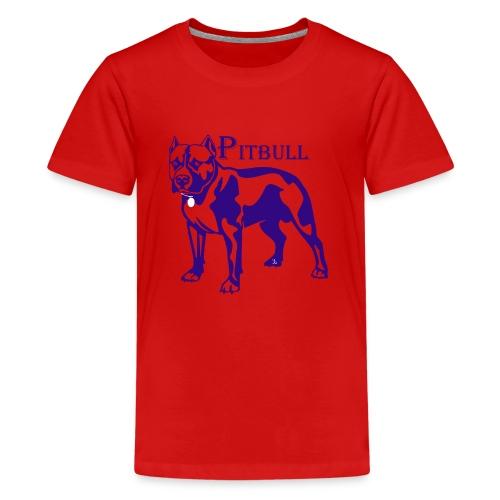 pitbull - T-shirt Premium Ado