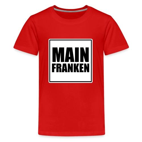 MAIN FRANKEN - Teenager Premium T-Shirt