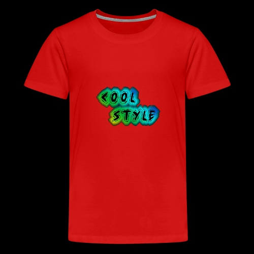cool style - Teenager Premium T-Shirt
