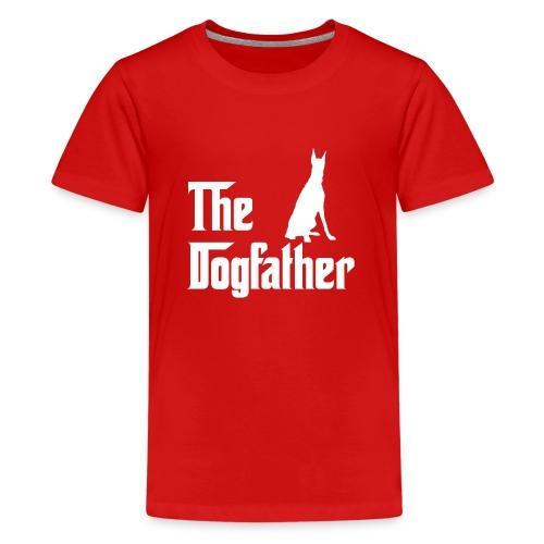 The Dogfather Dobermann - Teenager Premium T-Shirt
