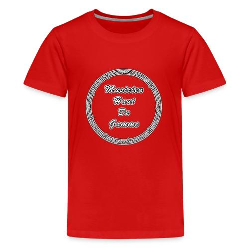 MUSICIEN HAUT DE GAMME - JEUX DE MOTS - FRANCOIS V - T-shirt Premium Ado