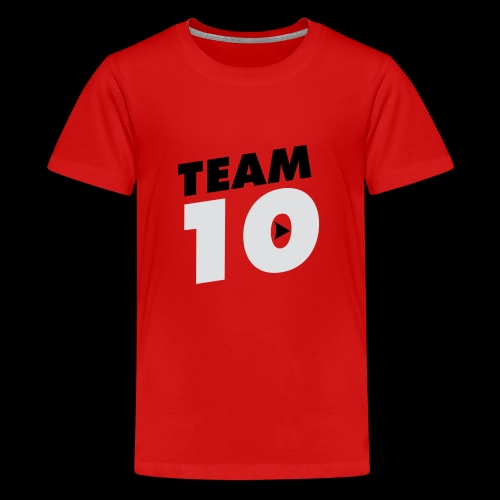 Team10 logo - Teenage Premium T-Shirt