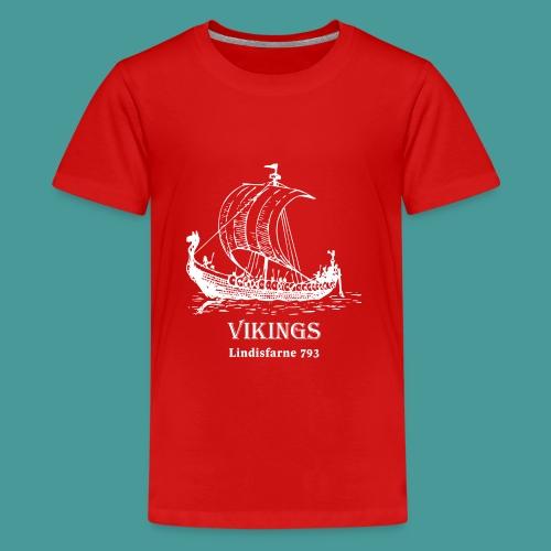 vikings Lindisfarne 793 - Premium-T-shirt tonåring