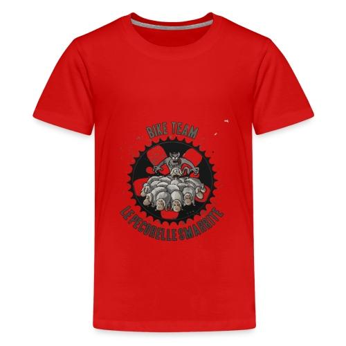 BIKE TEAM LE PECORELLE SMARRITE - Maglietta Premium per ragazzi