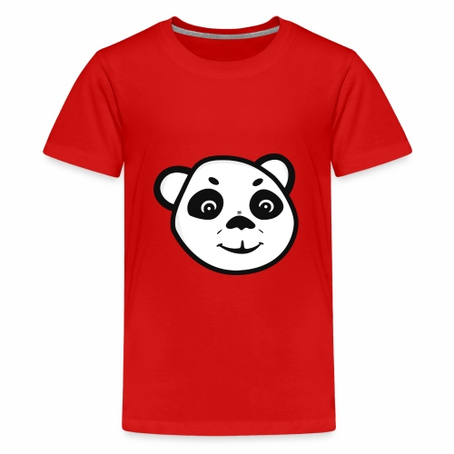 Panda Logo - Teenage Premium T-Shirt