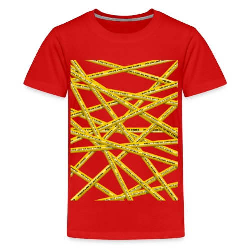 POLICE LINE - Teenage Premium T-Shirt