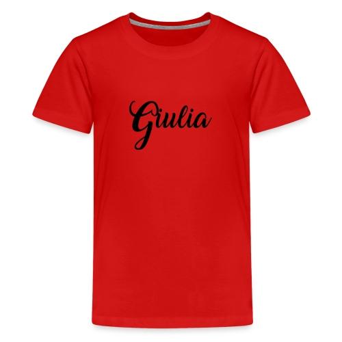 giulia - Maglietta Premium per ragazzi