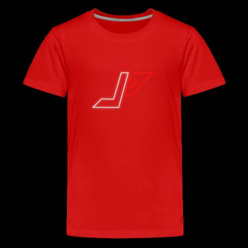 plunjie logo - Teenage Premium T-Shirt