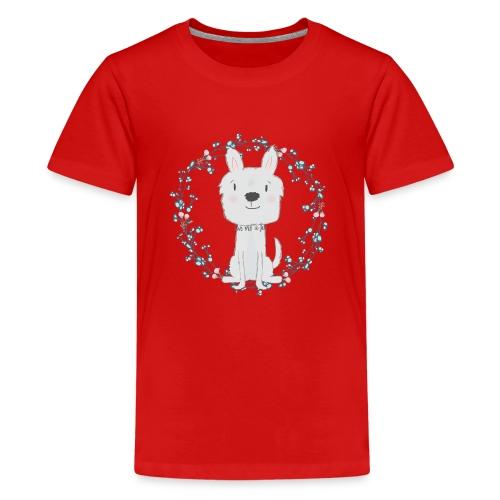 Hond   Hug - Teenager Premium T-shirt