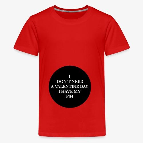 Valentine Day - Love videogame - Maglietta Premium per ragazzi