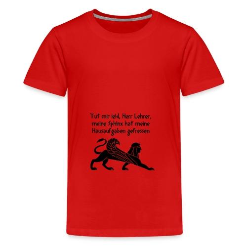 Die perfekte Ausrede - Teenager Premium T-Shirt