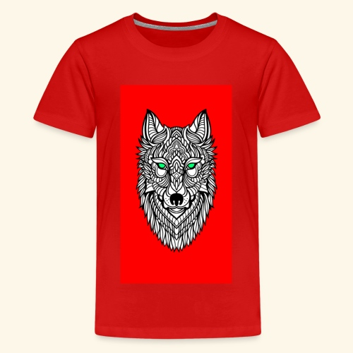 wolf2 - Teenager Premium T-Shirt