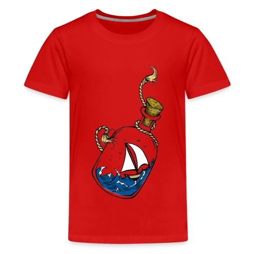 bouteille à la mer - T-shirt Premium Ado