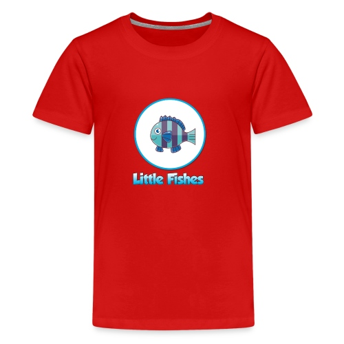 Little Fishes Logo - Teenage Premium T-Shirt