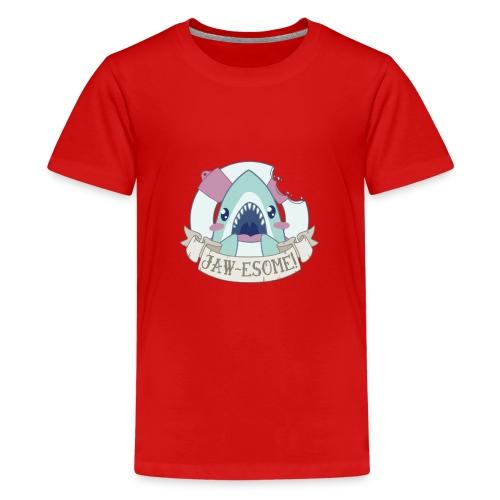jawe some shark - Teenage Premium T-Shirt