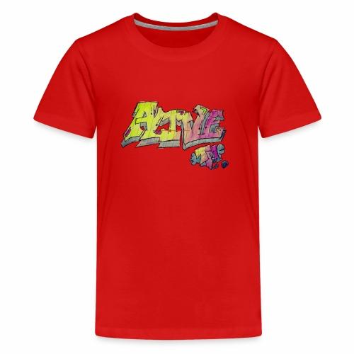 ALIVE TM Collab - Teenage Premium T-Shirt