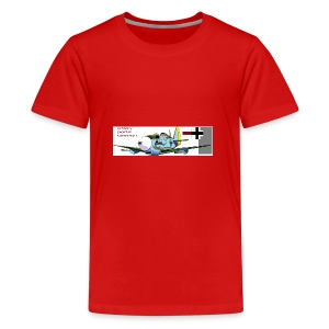bf109mug - Teenage Premium T-Shirt