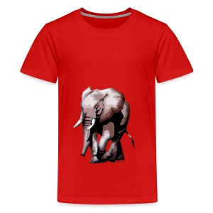 Big Elephant - Teenager Premium T-Shirt