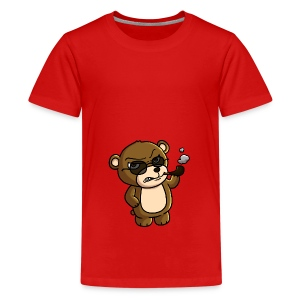 AngryTeddy - Teenage Premium T-Shirt