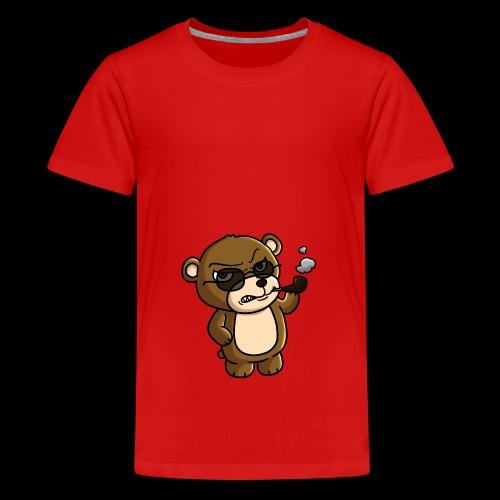 AngryTeddy - Teenage Premium T-Shirt