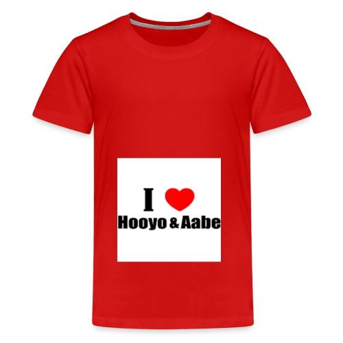 hooyo aabe1 - Teenager Premium T-shirt