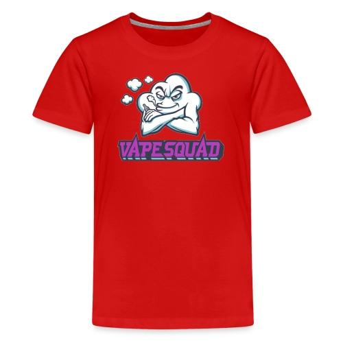 Vape Squad Logo Mixer - Teenage Premium T-Shirt