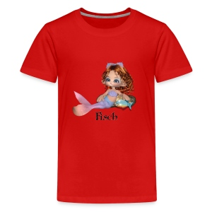 fisch2 - Teenager Premium T-Shirt